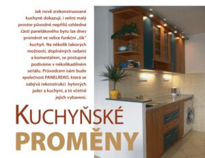 Článek kuchyňské proměny