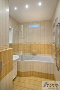 Rekonstrukce koupelny, série KILIMI